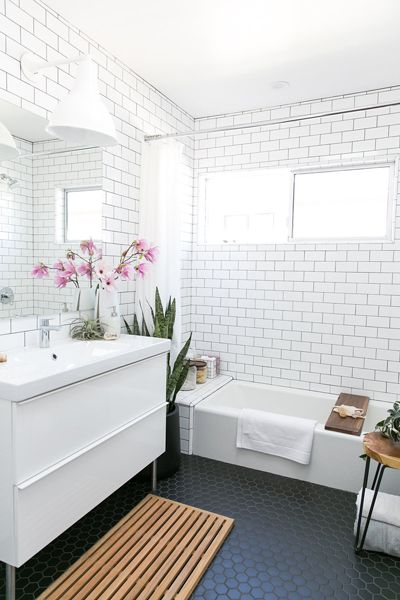 Registering for a Relaxing, Modern Bath with 100 Layer Cake – Crate and Barrel Blog