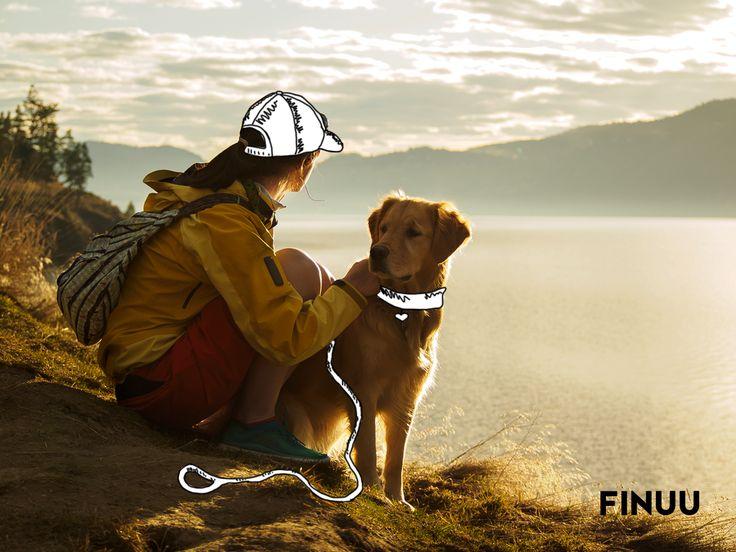 Najlepszy spacer fińskimi szlakami to ten z prawdziwym przyjacielem! :) #finuu #finuupl #finlandia #finland #dog #walk #spacer #pies #wildnature #dzikanatura
