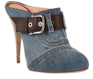 Upcycling: Jeansdekorerade skor. Bloggen Re-creating.se (återbruk)