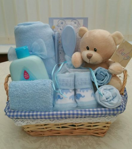 Baby boy #small #teddy gift #hamper new, View more on the LINK: http://www.zeppy.io/product/gb/2/201695155440/