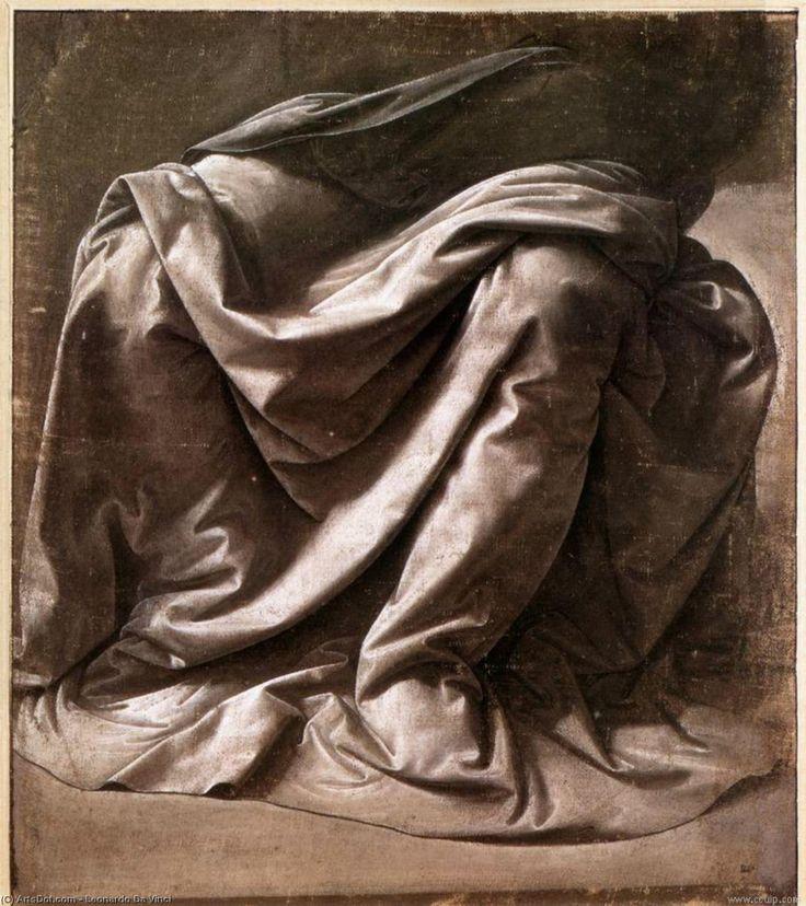 Leonardo Da Vinci-habit étudier  pour  une  Assis  chiffre