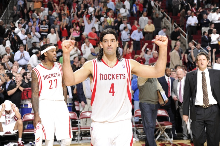 Luis Scola    Rockets for life!
