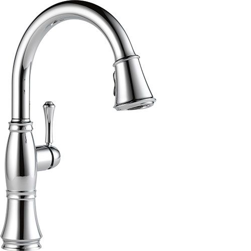 Kitchen Sink Faucets Touch Activated Single And Two Handle Pull Down And Pull Out Delta
