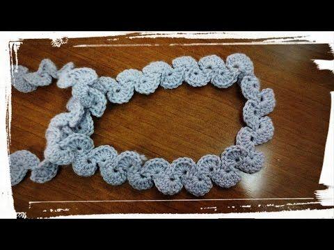 Como hacer un cinturón de ganchillo o crochet. - YouTube