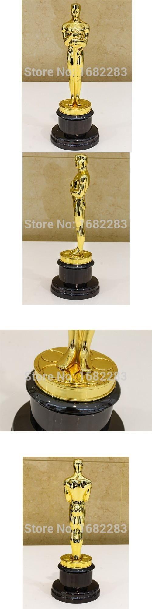 Academy Award Oscar Statue,Oscar Trophy, Zinc Alloy Replica Oscar Trophy,