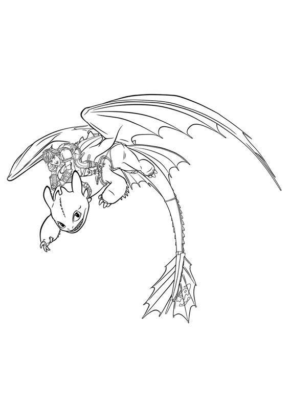 33 Disegni Di Dragon Trainer 1 E 2 Da Colorare Pagine Da Colorare Per Bambini Libri Da Colorare How To Train Your Dragon