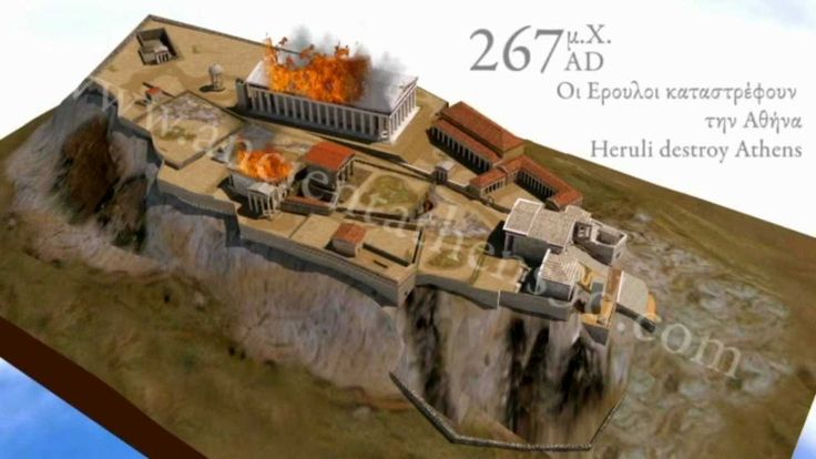 A brief history of the Athenian Acropolis from 3500BC-2010AD
