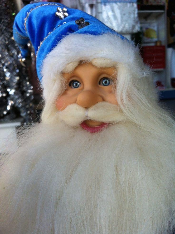 http://www.christmascomplete.com.au/Antarctic-Blue-Santa-Claus-30cm_p_782.html