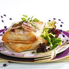Découvrez la recette Pastilla de boudin blanc sur cuisineactuelle.fr.