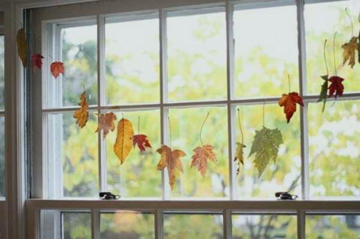 Herbst Dekoration Fenster Allgemeines Und Makellos Fensterdeko Zum Herbst Kreative Vorschlage Archzine F Fenster Dekor Fensterdeko Basteln Mit Kindern Herbst