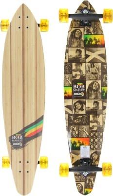 Sector 9 Bob Marley Revolution Bamboo 40.5 Complete ... Longboard Sector 9 Bob Marley