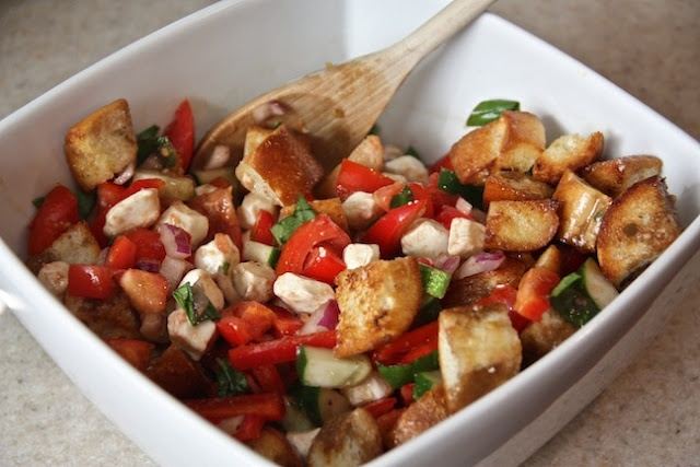 Frilly Details: Panzanella - A Delicious Summer Salad (recipe from Our ...