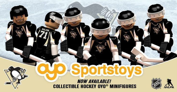 LEGO Hockey Pittsburgh Penguins | Pittsburgh Penguins LEGO figures | Pittsburgh Penguins | Pinterest