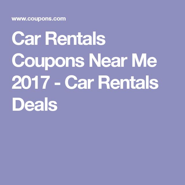Coupons For Car Rentals: Best 25+ Car Rental Coupons Ideas On Pinterest