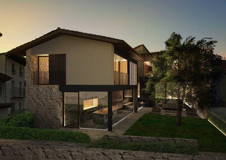 98 best Rustic house images on Pinterest Home ideas, Sweet home - maison en beton banche