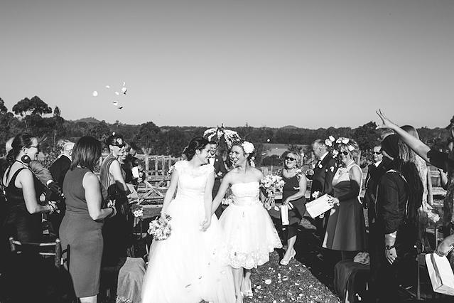 To Be Frank Weddings - Same Sex Wedding Planning, two brides, lesbian wedding, LGBT, LGBTQAI, two dresses tobefrankweddings.com.au   Lara Hotz Photography