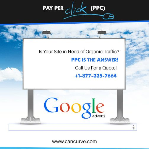 #PayPerClick is an effective service to be on top and start getting high revenue