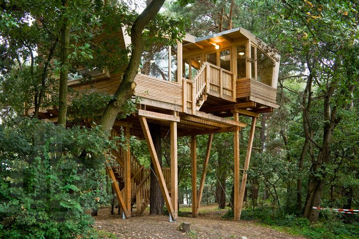 Дом на дереве для скаутов