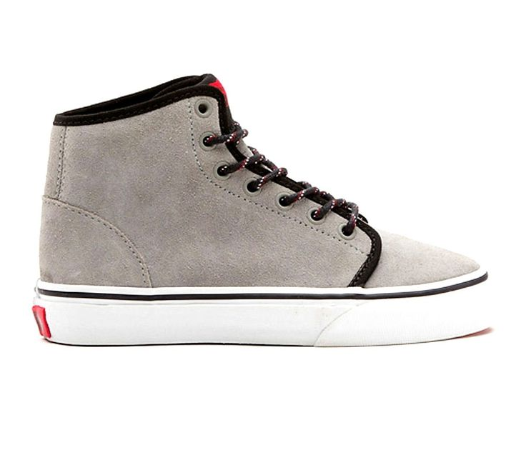 Vans Suede Hi-top Kids Shoes