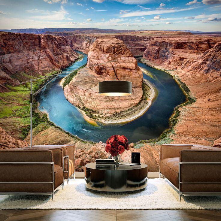 Landscape wallpaper #art #design #nature #home #decoration