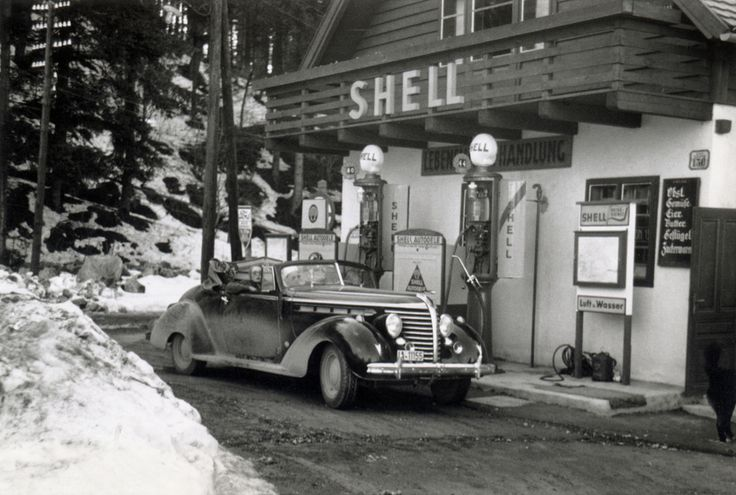 Shell Station from the 1930's.