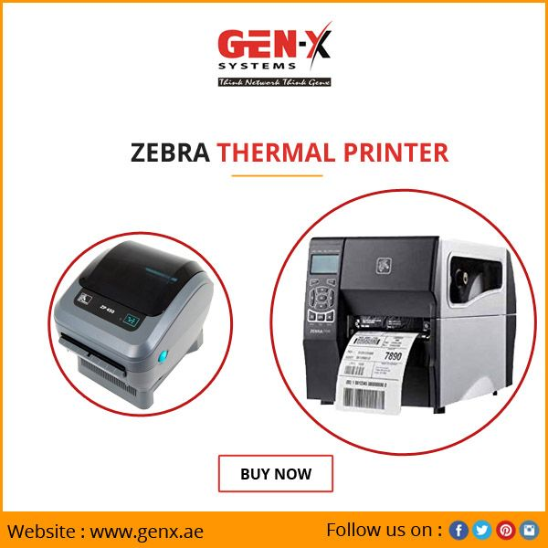 Now printing labels become easier through Zebra thermal