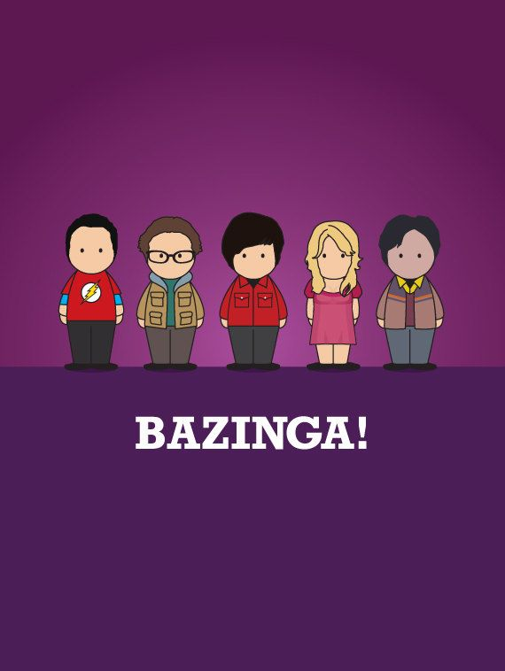 The Big Bang Theory Print