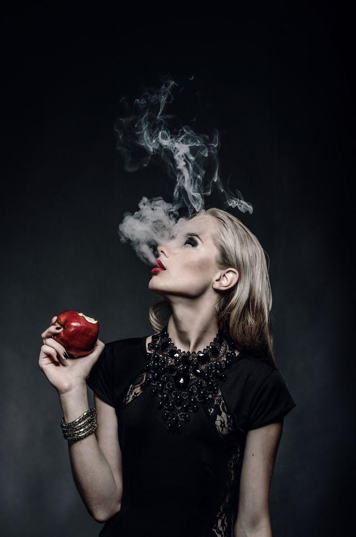 "SEVEN DEADLY SINS ""LUST"" Photo: Aiste Ginaityte Model: Golda Filipavičiūtė Style: Aria Kairytė Make up: Gintarė Pakštaitė  / meduza photography / dark / fashion / beauty /"