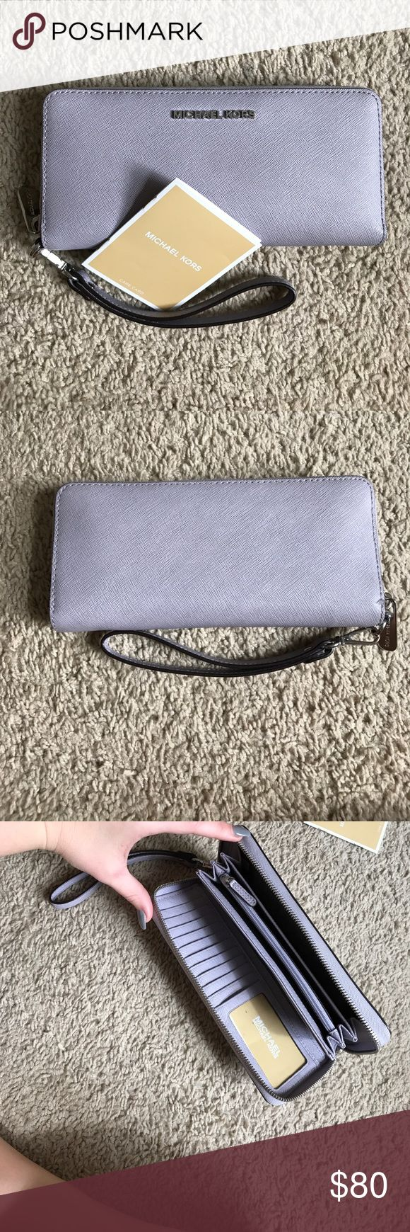 Michael Kors wallet MICHAEL KORS Jet set Lilac wallet Michael Kors Bags Wallets