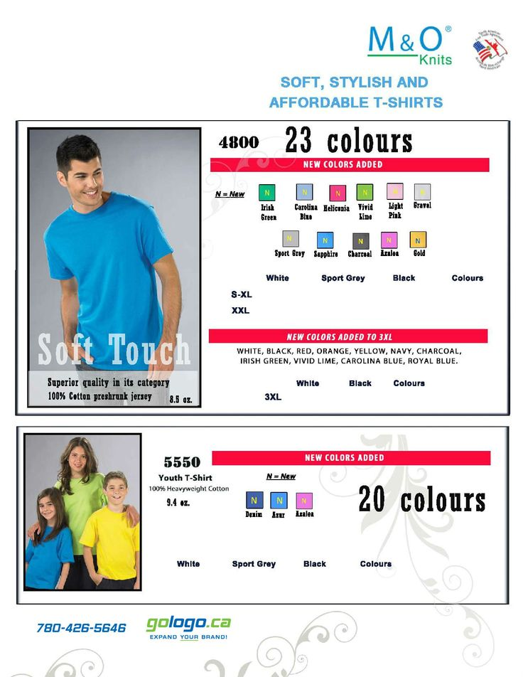 Super Soft T-shirts! Special Promo going on now until Aug 29, 2014!