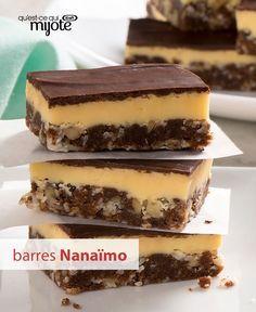Ce dessert classique qui porte le nom d'une jolie ville de la Colombie-Britannique est l'un des plus populaires sur les réseaux. Chocolat, crème anglaise, noix de coco et noix forment un mariage de saveurs vraiment unique, tout comme Nanaïmo. Tapez ou cliquez sur la photo pour obtenir notre #recette de Barres Nanaïmo.