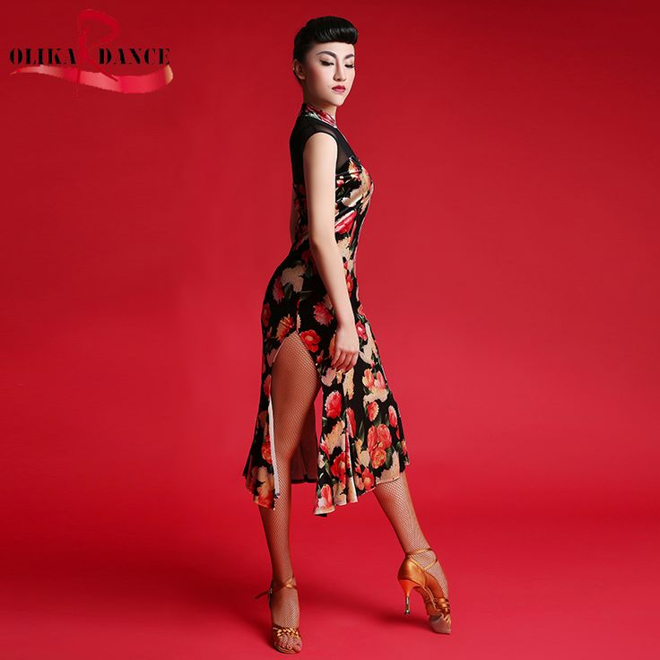 Cheap suit wedding, Buy Quality dress suits for baby boys directly from China dress short Suppliers: New sexy Competition fringe flower Latin dance dress retro salsa dress standard women tango performance dresses