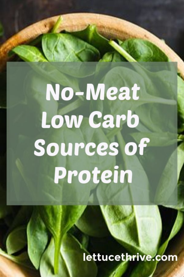 Check out this list of high protein, low carb foods that are non-meat. Many Item...