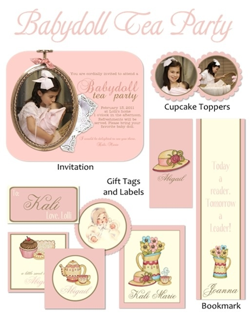 24 best Baby doll party images on Pinterest Doll party Birthday