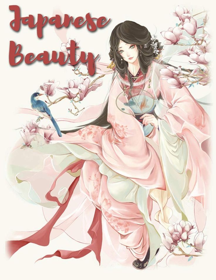 Anime coloring books for adults amazon japanese beauty