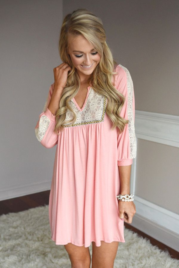 Dreaming in Pink Dress – The Pulse Boutique