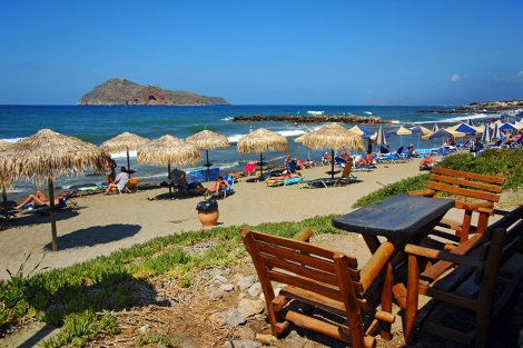 Platanias ☼ Crete, Greece.