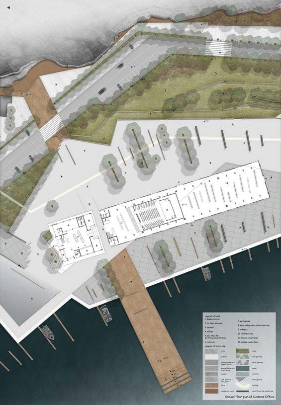 STUDENT PROJECT | Regeneration of the Customs Office area in Kavala | Elli Nikolaidou « World Landscape Architecture – landscape architecture webzine