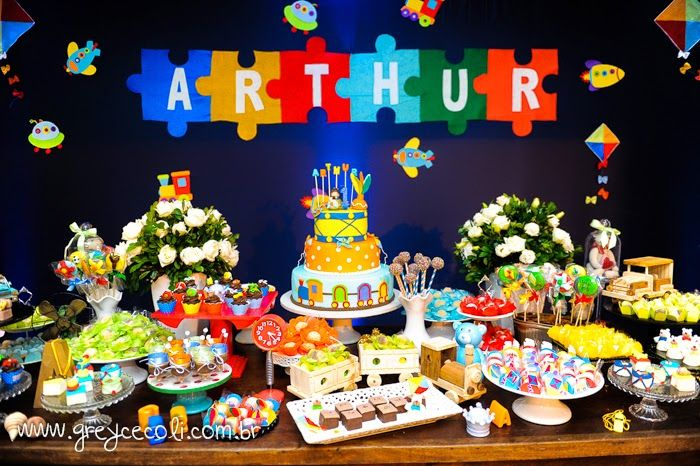 Encontrando Ideias: Aniversário Menino