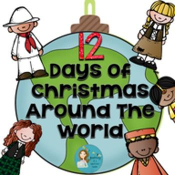 This 122 page Holiday pack is full of fun activities, interactive pages, and materials! Your class will love learning about 12 holidays around the world celebrated around Christmas time!