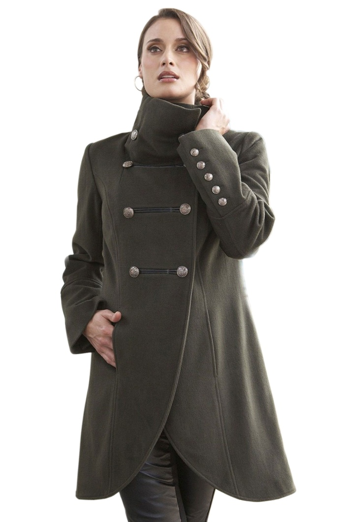 Plus size women winter coats