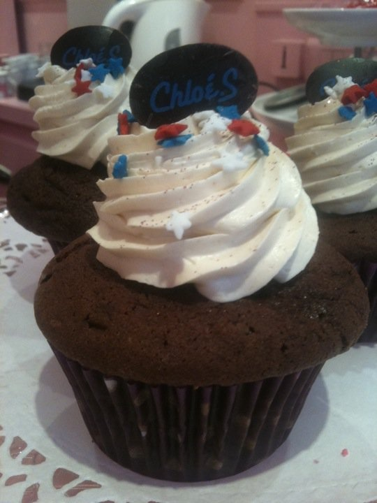 Betty : cupcake chocolat cœur de peanut butter