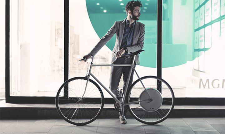 Een slimme fiets met behulp van FlyKly