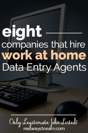 Data Entry Jobs From Home (List Of 11 Companies That Hire)
