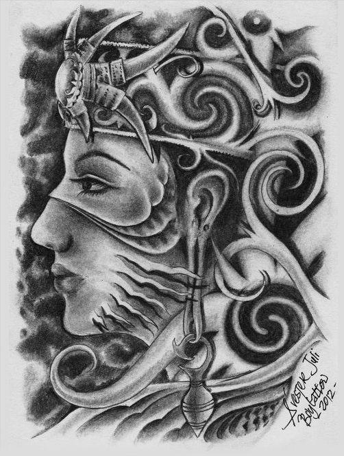Sur-real Dayak Girl by SylvesterJuli.deviantart.com on @deviantART