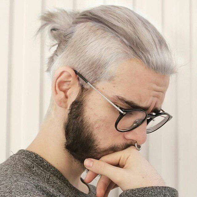 mens hair styles with beard 25 best ideas about grey hair on silver 4240