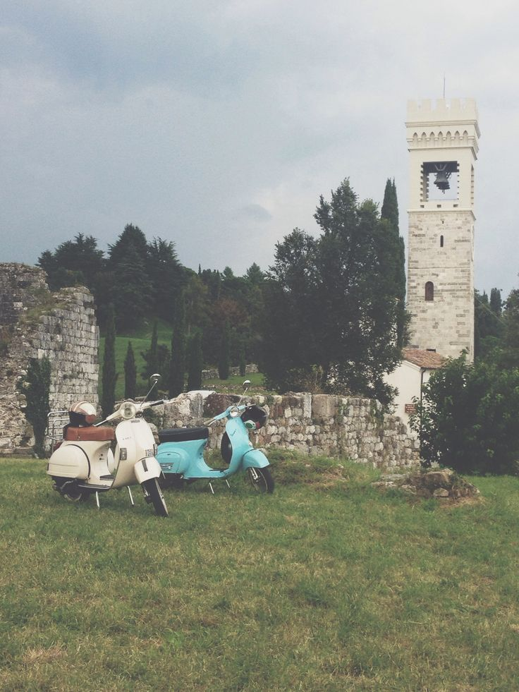 castello di Fagagna, Friuli Venezia Giulia, Italy - B&B Stop&Sleep Fagagna #friuli #italy #travel #castle #hills #vespa