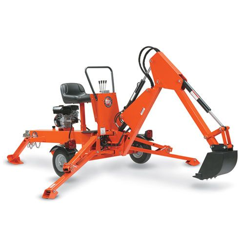 Dr Power Backhoe 9hp Towable Self Contained Excavator