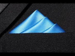 24 formas de doblar un pañuelo de bolsillo – Infografía – Hombre interior