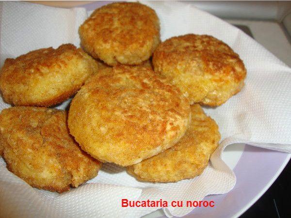 Crochete de cascaval pane - Bucataria cu noroc